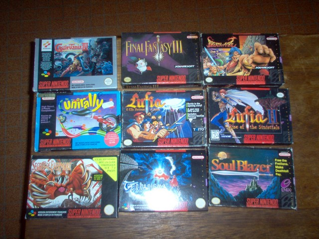 Collection jeux vidéos Bakasan IM000672