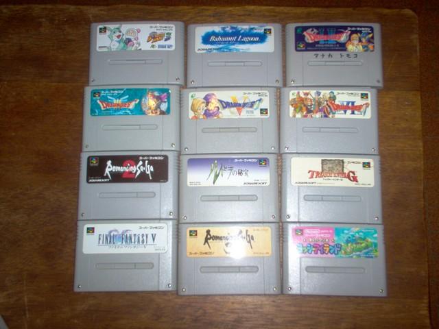 Collection jeux vidéos Bakasan IM000678