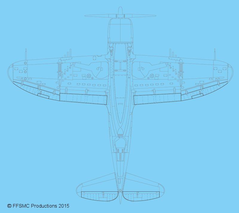 P47 RAZORBACK du LT MARVIN ROSVOLD 397 FS 368FG 1944 [21ST CENTURY TOYS - 1/18] - Page 2 P-47D%20Vue%20de%20Dessous
