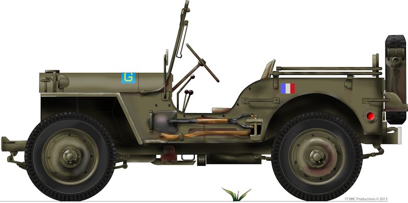 Jeep Willys MB hasegawa + Eduard 1/24 (Configuration finale) - Page 4 Raleuse_gauche-small