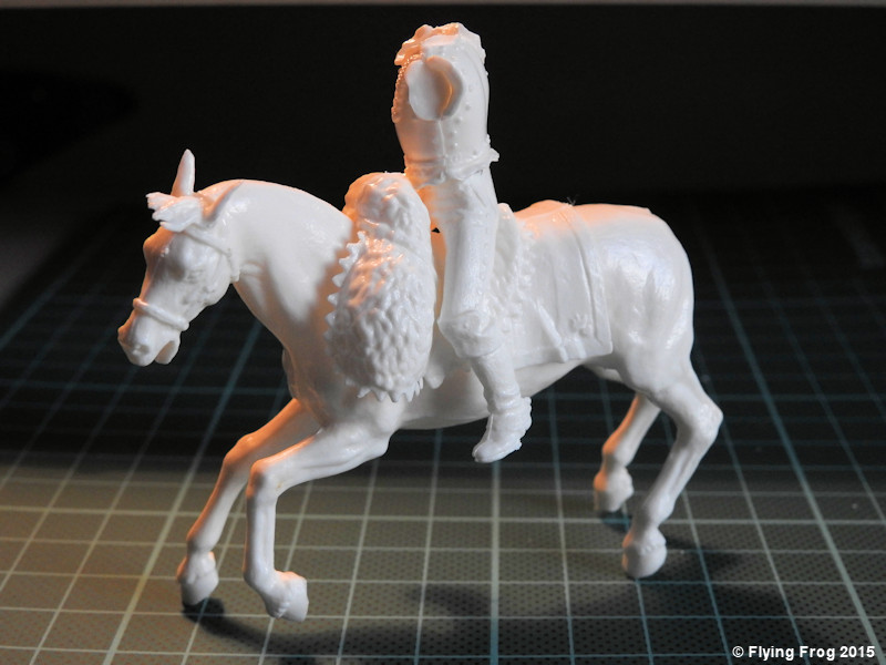 "[Airfix 54mm] ""French Cuirassier 1815"" ref 02555 Assemblage-04"