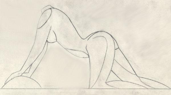 Dessins de sculpteurs Femme-1