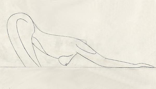Dessins de sculpteurs Femme-2