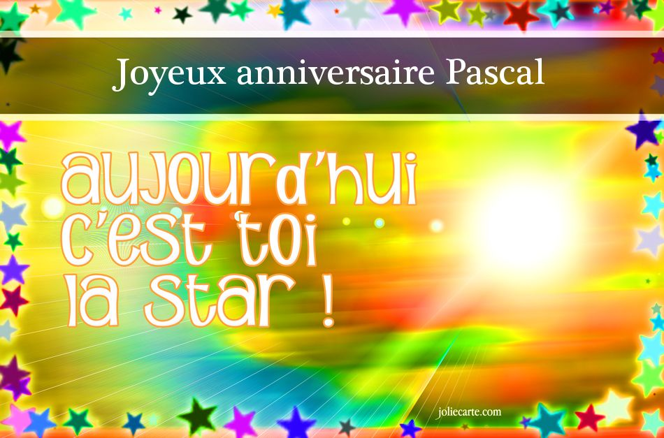 jeudi 6 avril Pascal