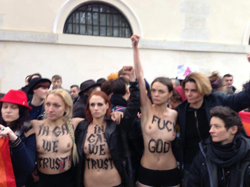 La première Guerre mondiale et la formidable idée d'Europe selon les Jésuites et l'oligarchie mondialiste Partie  1 1 Femen-et-fourest
