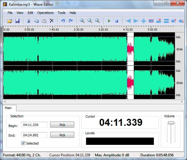 Download phần mềm tăng âm lượng cho file nhạc MP3 WAV WMA A2