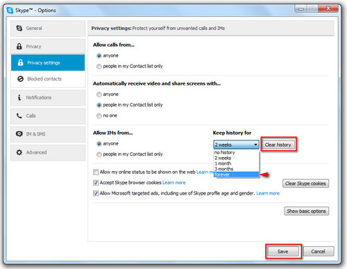 Cách xóa tin nhắn Skype chat Xoa-tin-nhan-skype-4