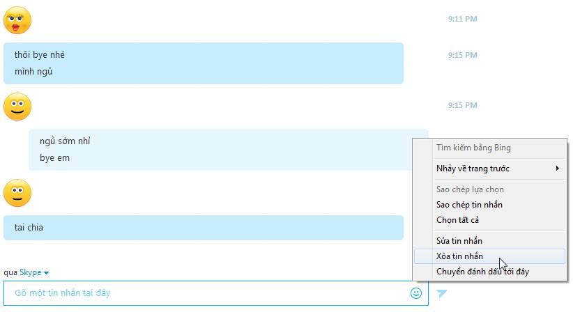 Cách sửa, xoá tin nhắn đang chat, vừa gõ trên Skype Xoa-tin-nhan-slype