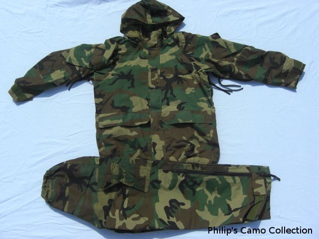 Extended Cold Weather Clothing System Parka. Collection_170