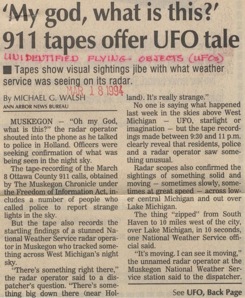 The Holland Michigan Radar-Visual UFO Case. Ub50d0ea3c