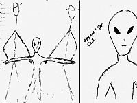 UFO Occupant Sketches / Non Human Reports. 1bf8b48e73c7