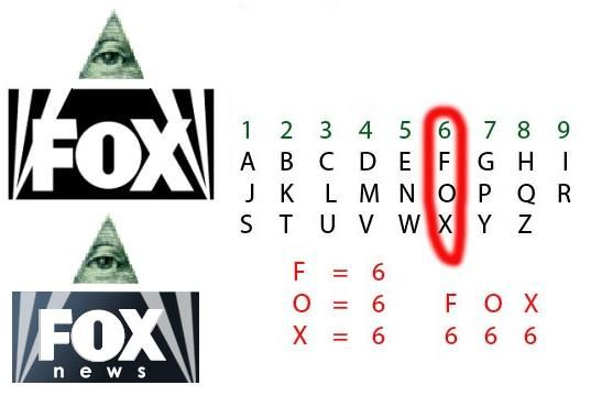 Conspiración: Canal Fox y Fox News = 666 2448fee31d6a
