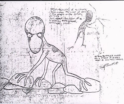 UFO Occupant Sketches / Non Human Reports. 6a8230ad2ca4