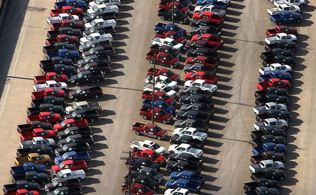 Куда деваются непроданные машины? Xford-7803