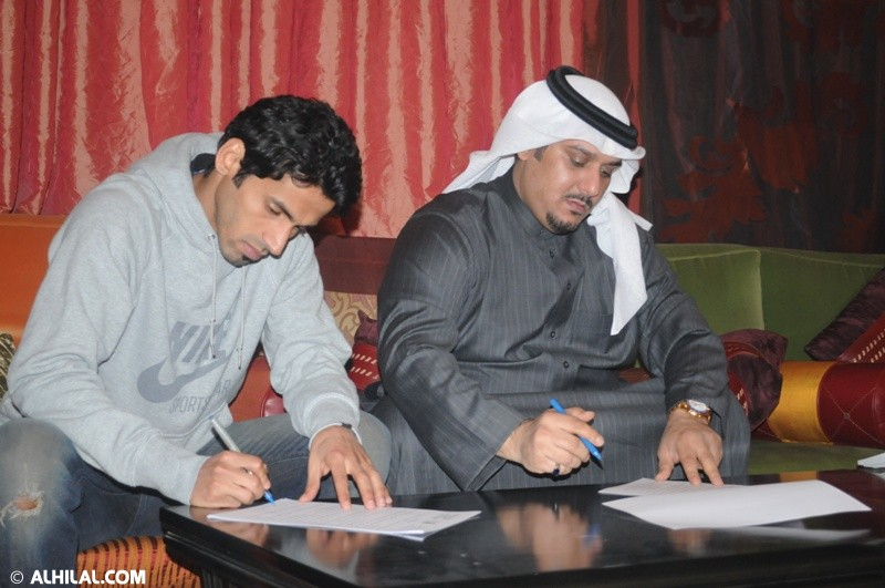 سعد الحارثي ونادي الهلال 79855437589610624255