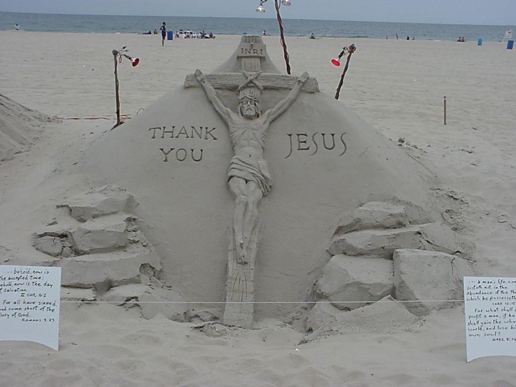 3صورللسيد المسيح مصنوعة برمل البحر ررررروعة 1038712678