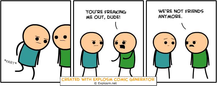 Random Comic Generator LackadaisicalFishCurtain