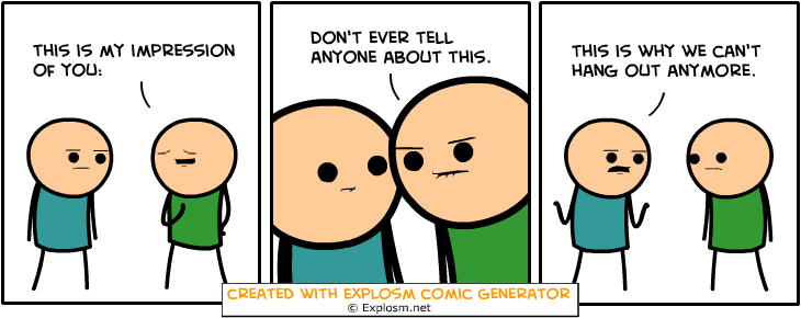 Random Comic Generator OafishEngineStreet