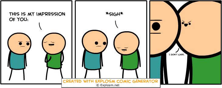 Random Comic Generator OafishRecessSkin