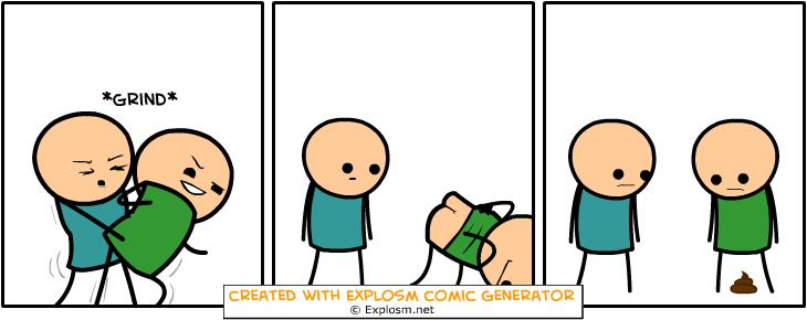 Random Comic Generator PoorBlowAftermath