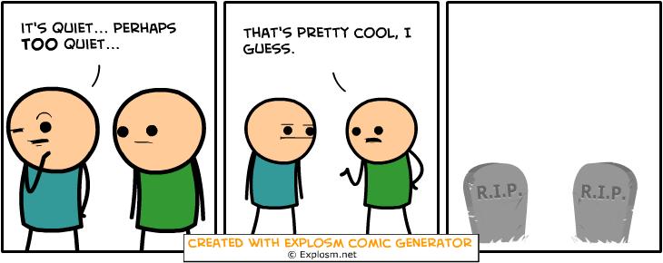 Random Comic Generator QuestionableWallClover