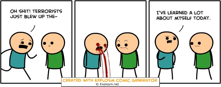 Random Comic Generator SpectacularClassControl