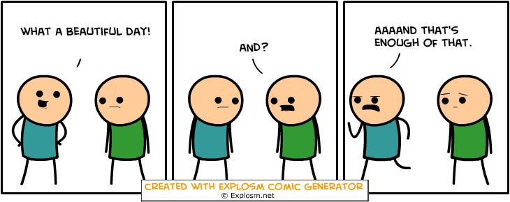 Random Comic Generator VigorousChangeSummer