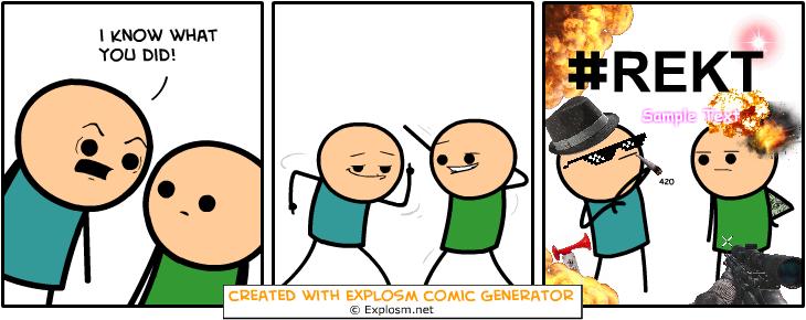 Random Comic Generator WonderfulVesselSteel