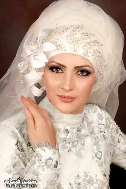 صور أحدث لفات طرح زفاف 2010 1261932862