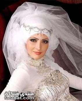 صور أحدث لفات طرح زفاف 2010 1261933085