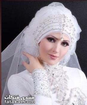 صور أحدث لفات طرح زفاف 2010 1261933217