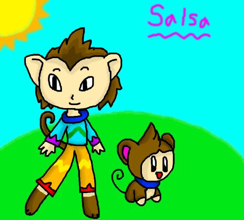 Soy Salsa HumanizedSalsaTheMonkey