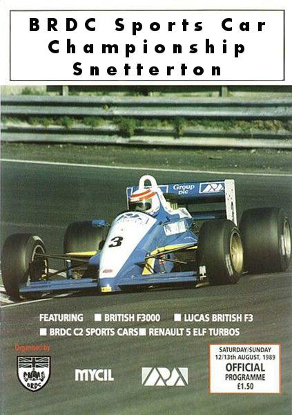 Round 4 - BRDC Sports Car Championship - Snetterton [Oct 19th] Snetterton