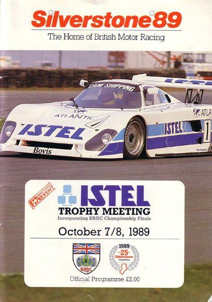 Round 7 - Istel Trophy Meeting - Silverstone GP (Nov 30th) _Silverstone-1989-10-08