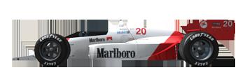 1988 CART PPG Indy Car World Series - Entry List 20