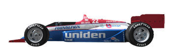 1988 CART PPG Indy Car World Series - Entry List 22A