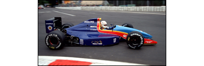 F1 1991 Belgian GP - Available cars   Chassis disponibles AGS