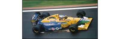 F1 1991 Belgian GP - Available cars   Chassis disponibles Benetton