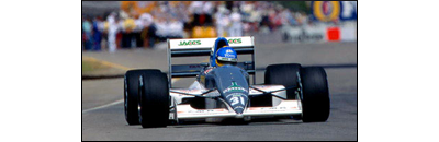F1 1991 Belgian GP - Available cars   Chassis disponibles Coloni