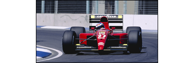 F1 1991 Belgian GP - Available cars   Chassis disponibles Ferrari