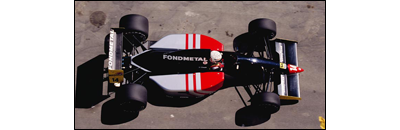 F1 1991 Belgian GP - Available cars   Chassis disponibles Fondmetal