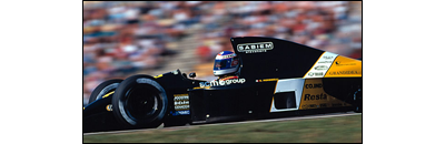 F1 1991 Belgian GP - Available cars   Chassis disponibles Minardi