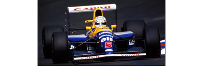 F1 1991 Belgian GP - Available cars   Chassis disponibles Williams