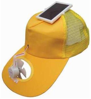 Inventan una lámina solar para sombrillas Gorra%20solar6