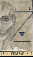 carte 25 => FEMME Oracle-de-la-triade-carte-25-femme