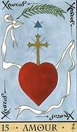 test tirage Oracle-de-la-triade-carte-15-amour