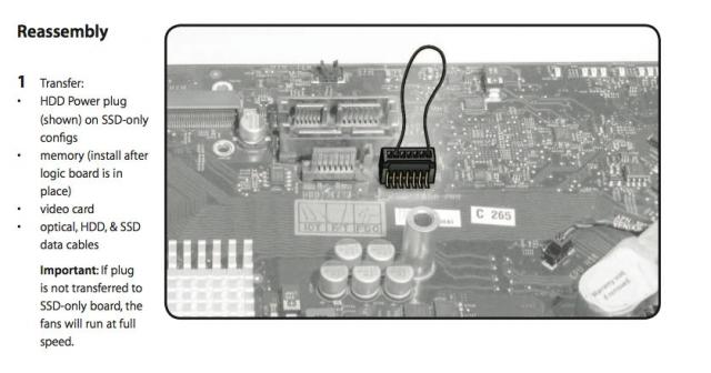 Matériel : iMac 2011, HDD, plus de peur que de mal Chandd