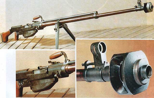 Ejército y armas de la URSS durante la 2º Guerra mundial. Ptrs1941