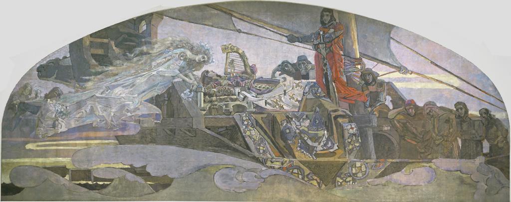Srednjovekovno francusko pesništvo Vrubel.PrincessaGreza