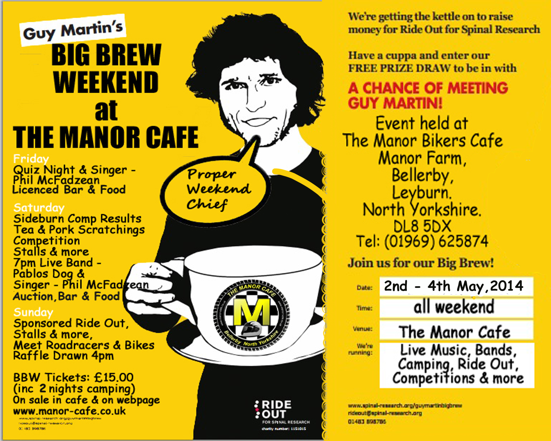 Guy Martin's Big Brew Weekend Advertgmbb